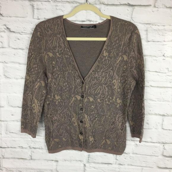 Peruvian Connection Sweaters - Peruvian Connection Cardigan Small Pima Cotton